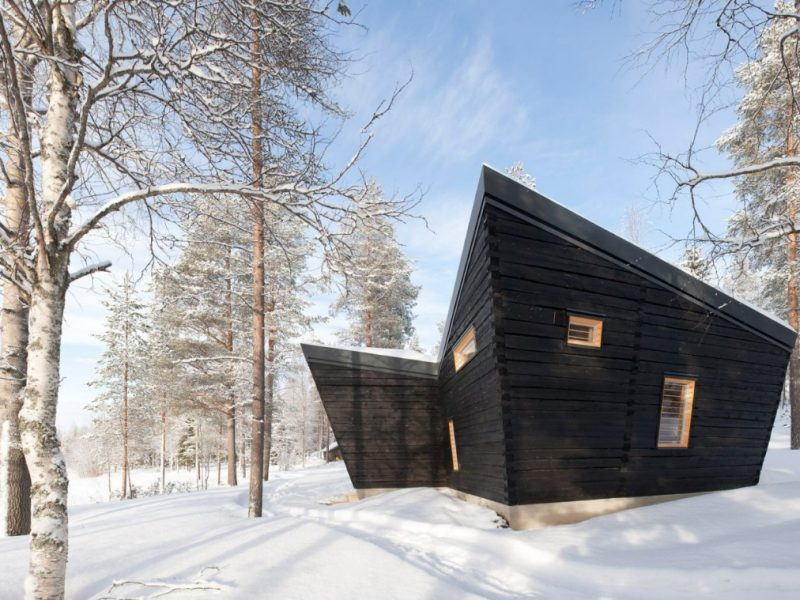 Toni Yli-Suvanto Architects ontwerpt prachtig Arctic Sauna Pavilion